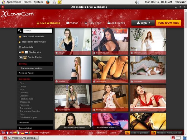 Account On X Love Cam