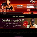 Free Account In Lady Gold Fetishdiva