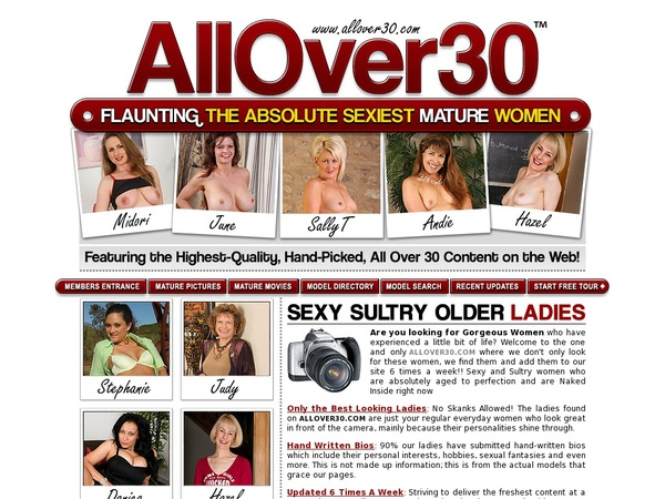 Allover30original Signup Form