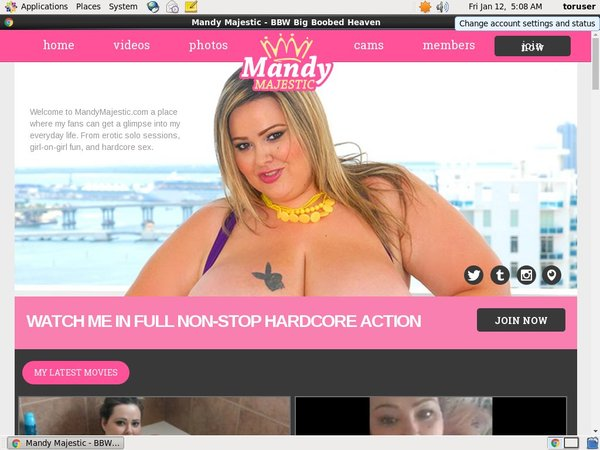 Mandymajestic Join Discount