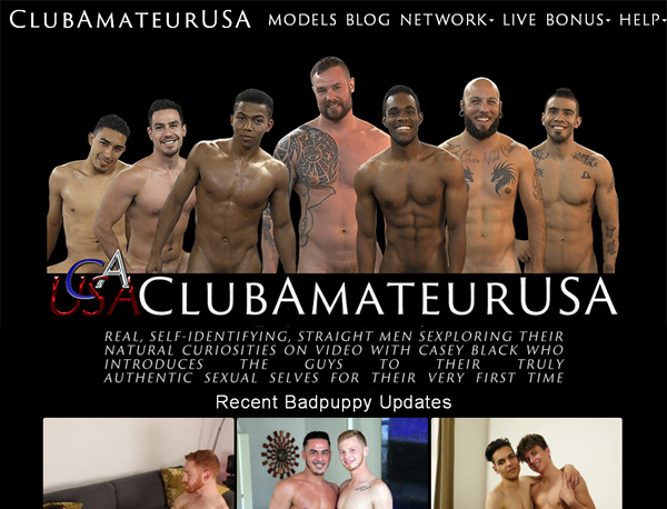 Free Working Clubamateurusa Account