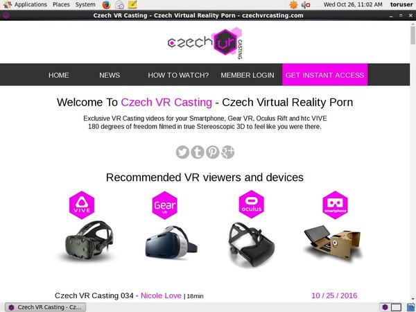 Czech VR Casting Free Trial Discount