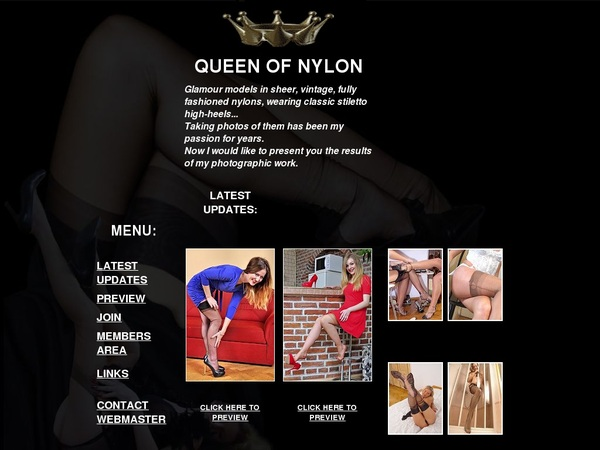 Queen Of Nylon Nylon Stockings