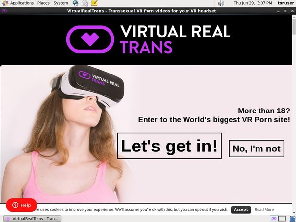 Try Virtual Real Trans