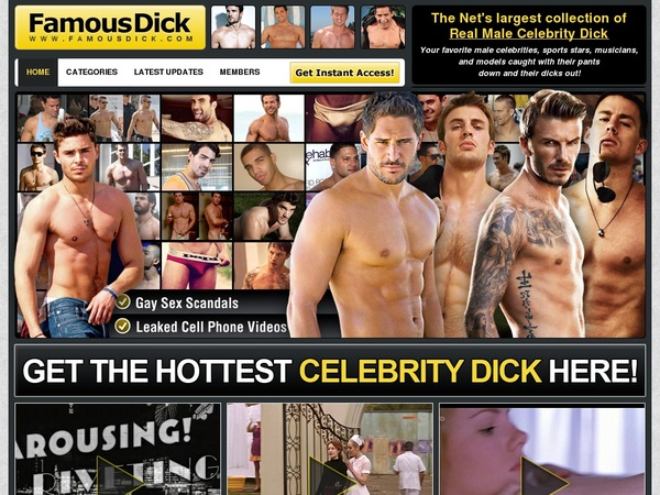 Free Famous Dick Video