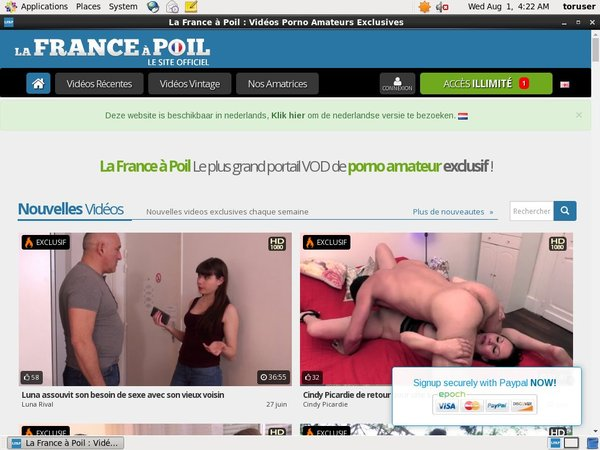 Lafranceapoil Tube