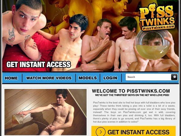Get Pisstwinks.com Account