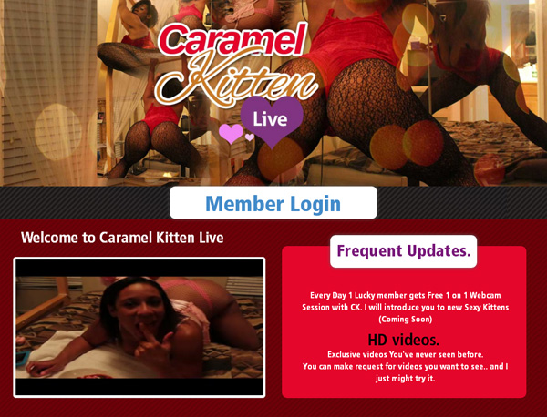 Caramelkittenlive.com Free Accounts And Passwords